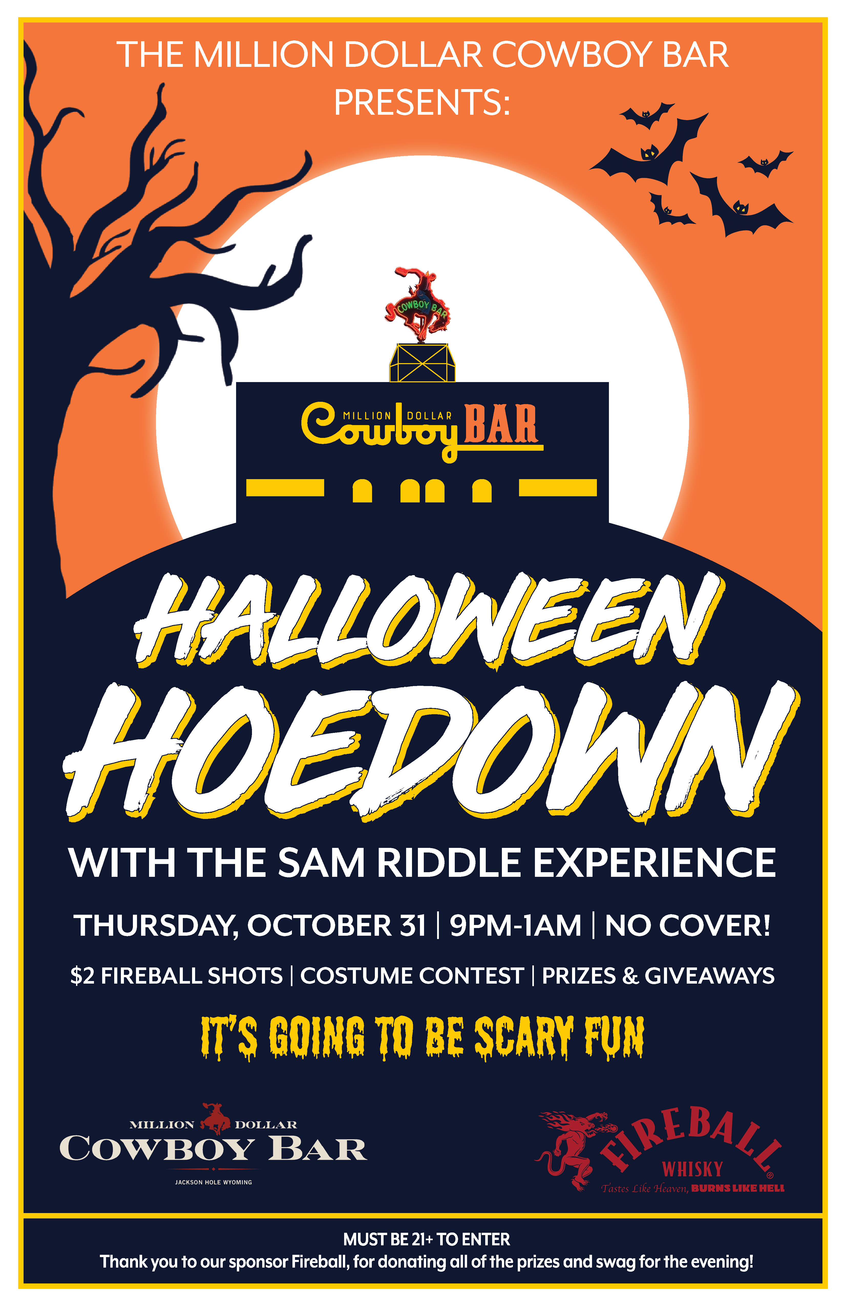 Halloween Hoedown with the Sam Riddle Experience