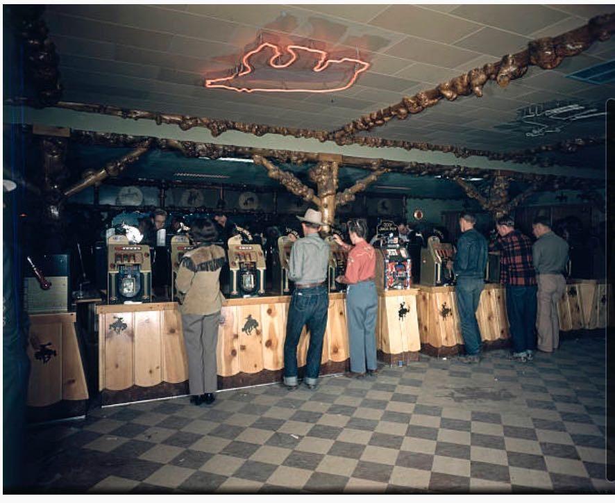 Gambling at Cowboy Bar